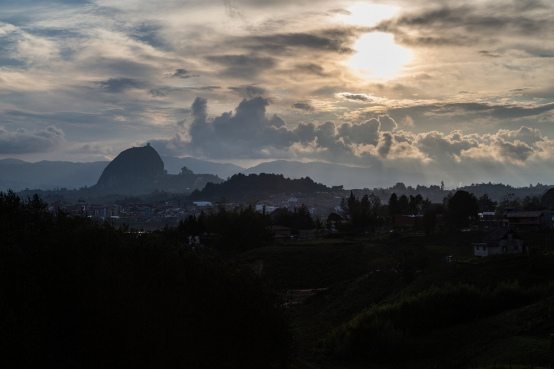 El Penon de Guatepe, in Antioquia, Colombia