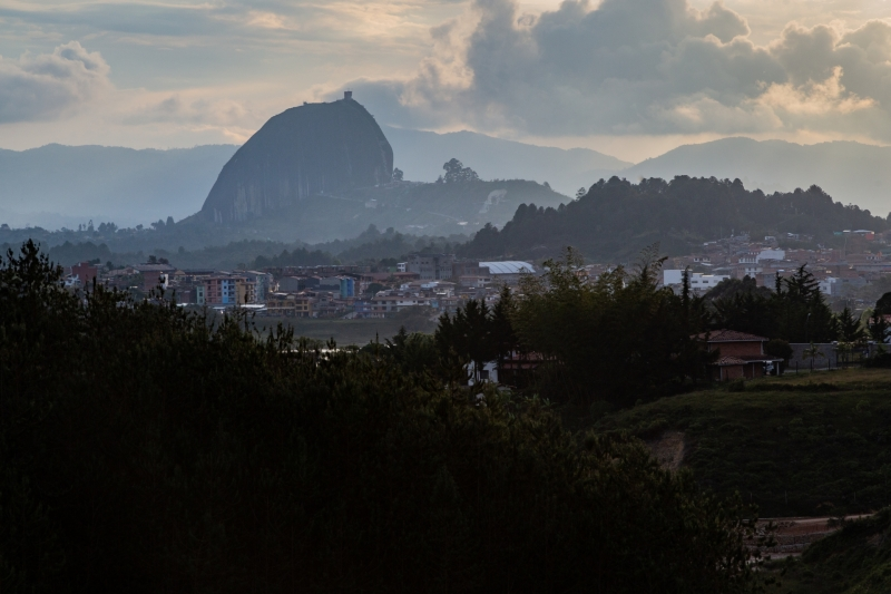 The Rock of Guatapé