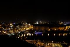 Prague City at Night