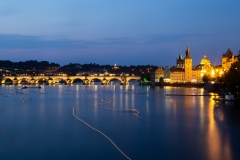 Charles Bridge at the Blue Hour