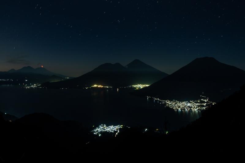 Dawn over Lake Atitlan