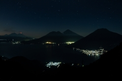 Dawn over Lake Atitlan