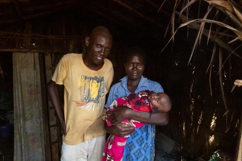 Beautiful Kenyan Family