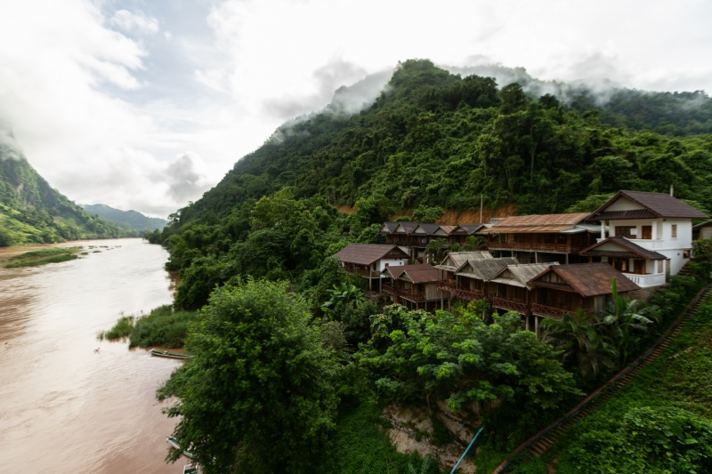 Nam Ou Riverside Resort in Nong Kiau, Laos