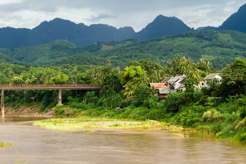 Overlooking the Nam Ou River and the Nam Ou Valley