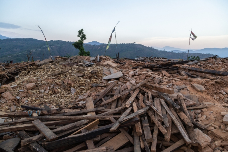 Earthquake Damage in Sindhupalchowk