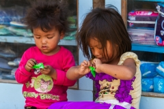 Children Eating Candy
