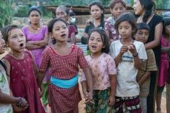 Village Girls Singing,