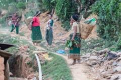 Ladies Walking to Get Water