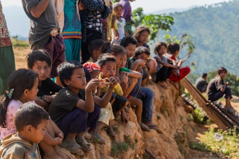 Children of Sindhupalchowk