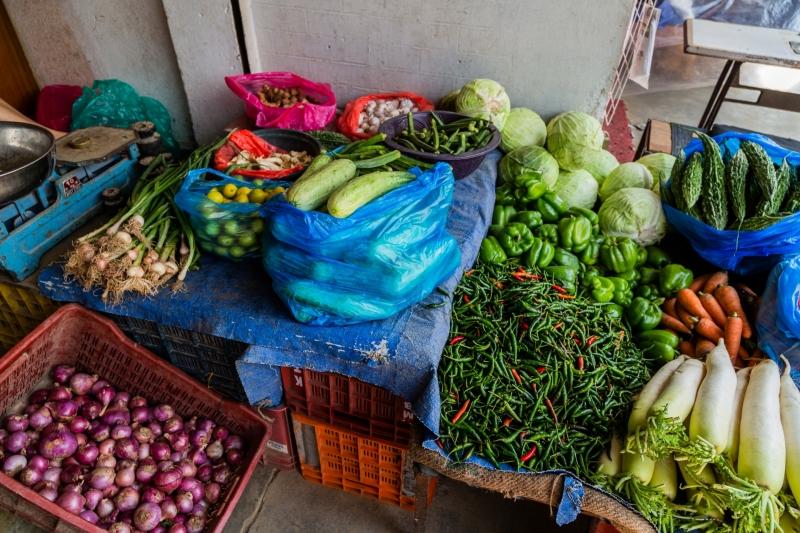 Fruit and Vegetables in Thamel