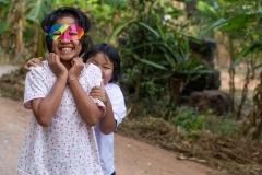 Thai Children Smiling