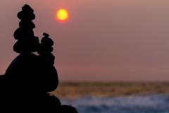 Cairns at Sunset