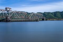 Rustic Railroad Bridge in Oregon