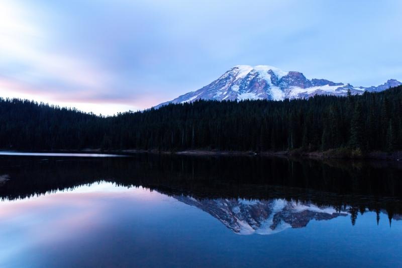 Reflection Lake in Mt. Rainier