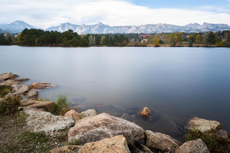 Rocky Mountains from Estes Lake