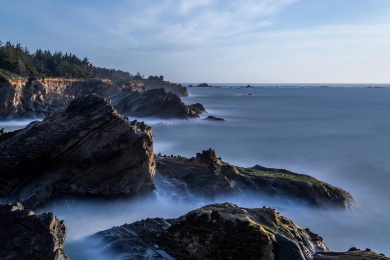 Blue Hour on the Oregon Coast