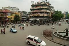 City Center of Hanoi, Vietnam