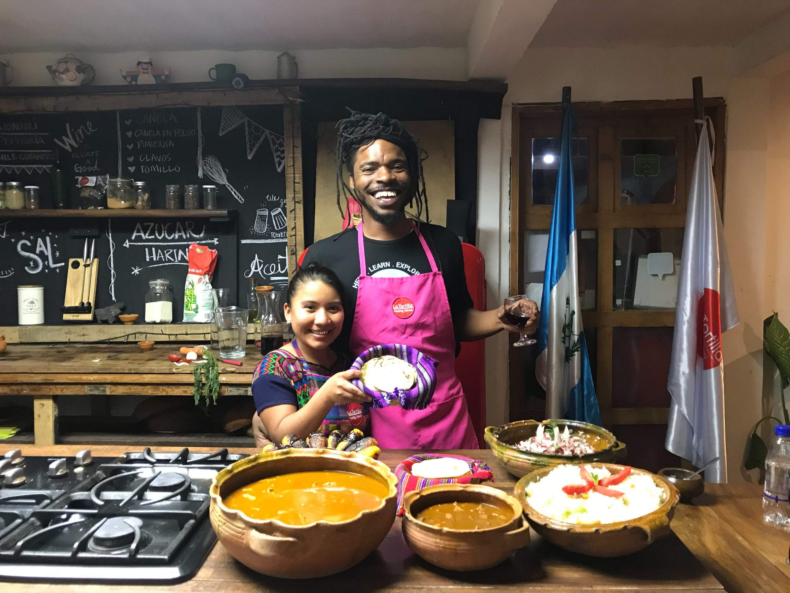 cooking class in guatemala