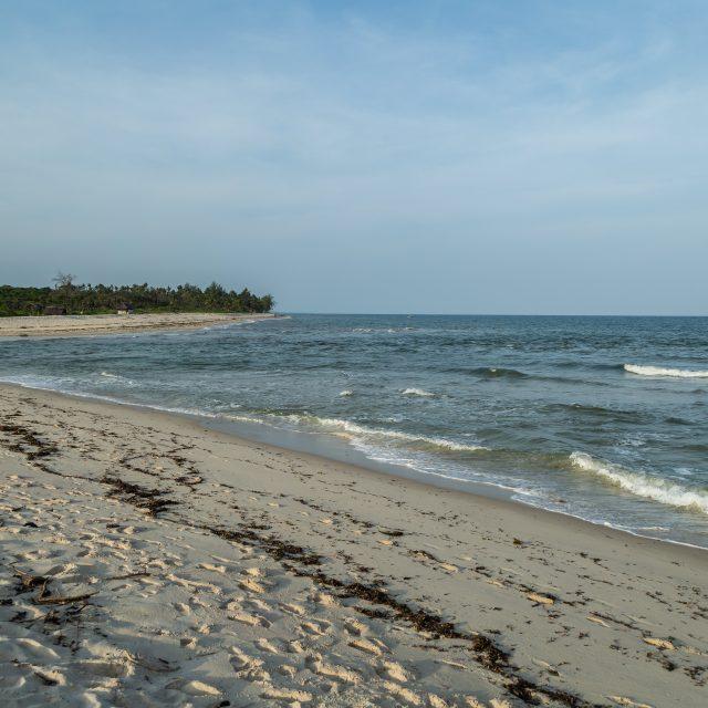 Indian Ocean on the coast of Kenya