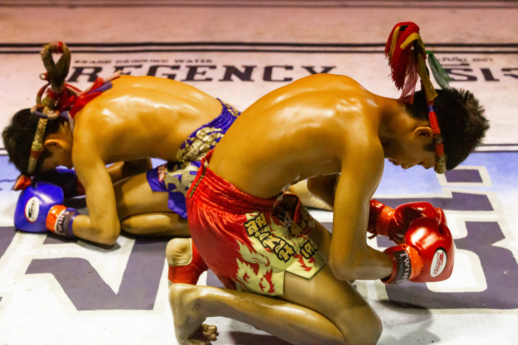 Muay Thai ritual dance